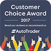 autotrader customer choice 2017